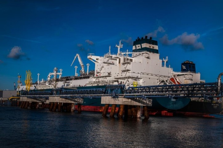Skangas make first small scale LNG reload at Klaipeda in Lithuania