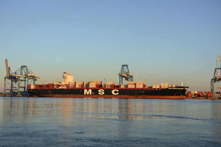 First Neo-Panamax Shipping Vessel Calls Port of Philadelphia