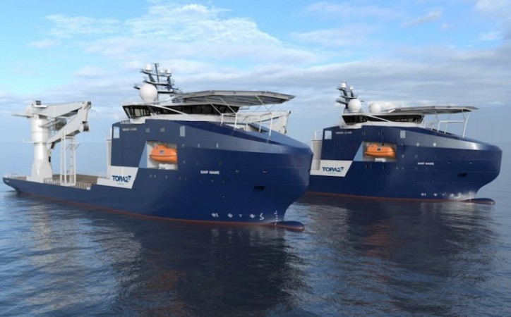 VARD Secures Contracts For Two Light Construction Vessels For Topaz Energy & Marine