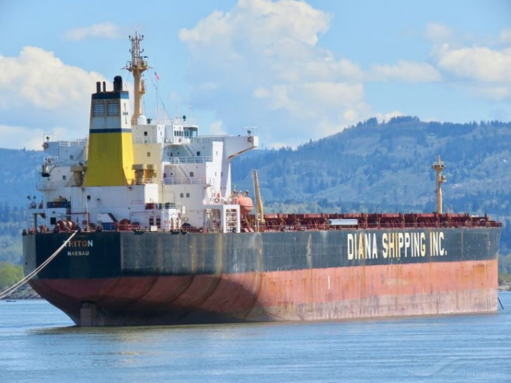 Diana Shipping Inc. Announces the Sale of a Panamax Dry Bulk Vessel, the mv Triton