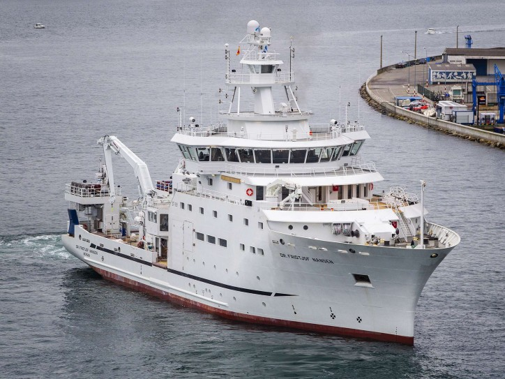 Research Vessel Dr Fridtjof Nansen set to begin Sea Trials