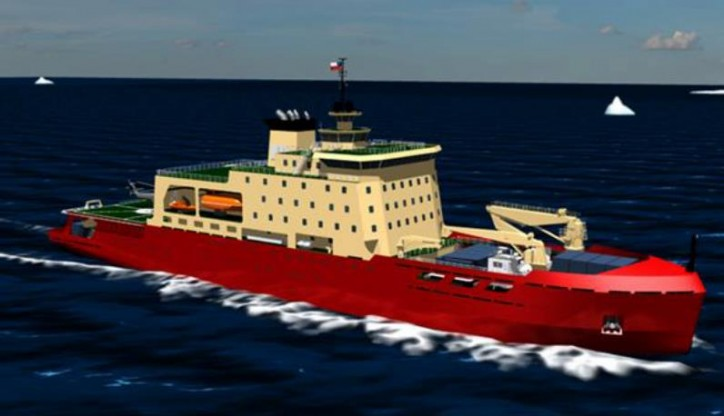 VARD Marine secures contract for the design of Antarctic icebreaking vessel for the Chilean Navy