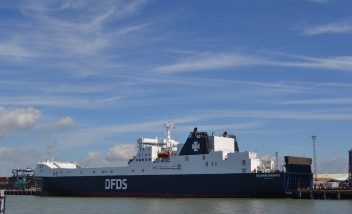 Port of Felixstowe and DFDS Boost Capacity