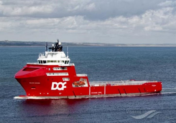 DOF awarded a contract for the vessel Skandi Gamma