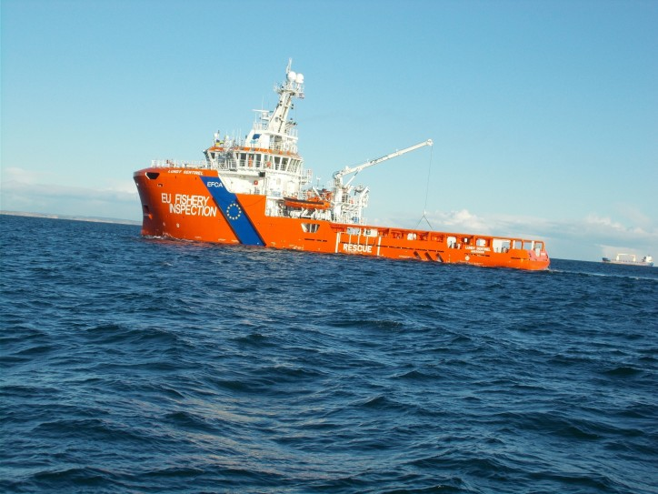 Sentinel Marine awarded contract by European Fisheries Control Agency for charter of patrol vessel