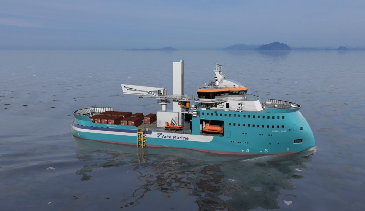 Ulstein wins order by Acta Marine to build DP2 construction support vessel