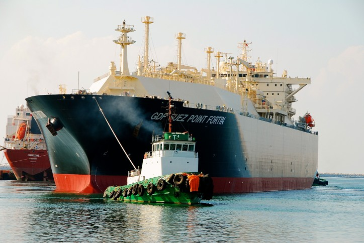 LNG Carrier GDF Suez Point Fortin Repairs Completed