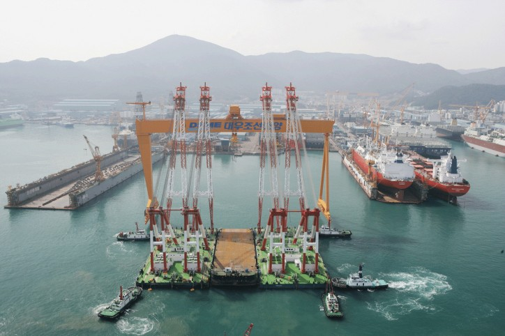 DSME Has Record Loss as Oil Slump Leads to Delays
