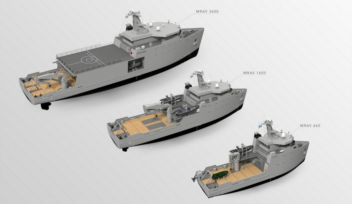 Damen Multi-Role Auxiliary Vessel Series