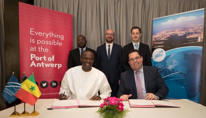 Antwerp and Dakar port authorities to collaborate more closely in the next five years
