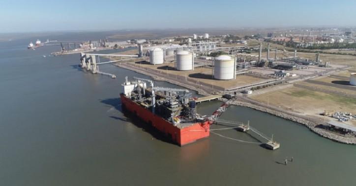 EXMAR's FLNG arrived in Argentina