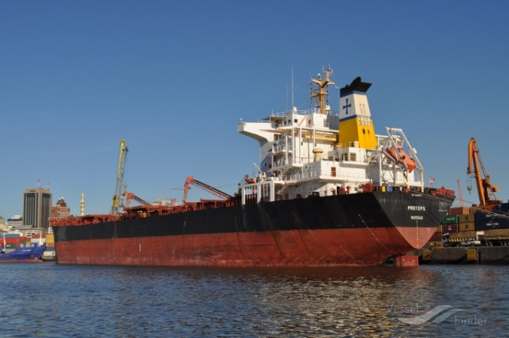 Diana Shipping Announces Time Charter Contract for mv Protefs with Hudson