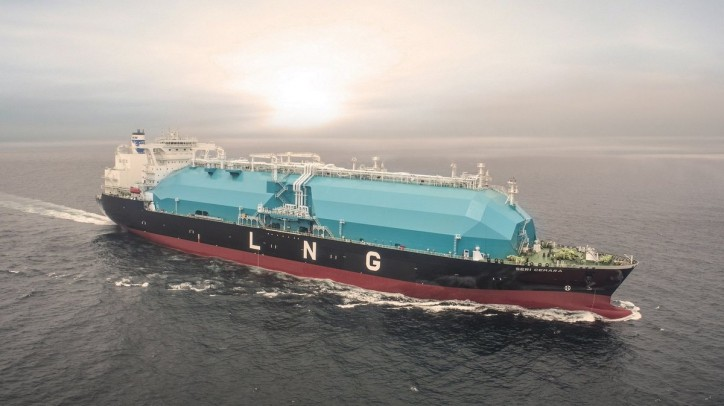 MISC Group welcomes the fifth and final MOSS-Type LNG Carrier - Seri Cemara