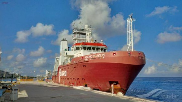 Fugro deploys two modern purpose-built vessels on seep hunting survey off Brazil