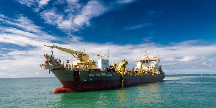 Boskalis joint venture awarded Martin Garcia Channel dredging contract