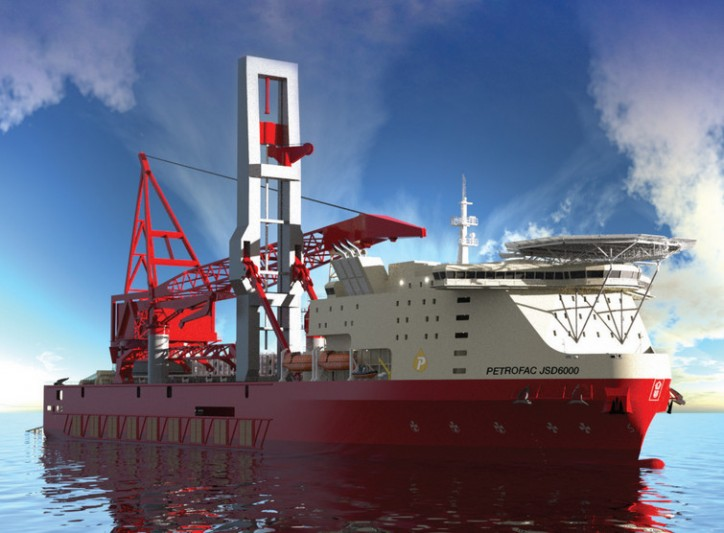 Petrofac sells JSD6000 vessel-project to ZPMC