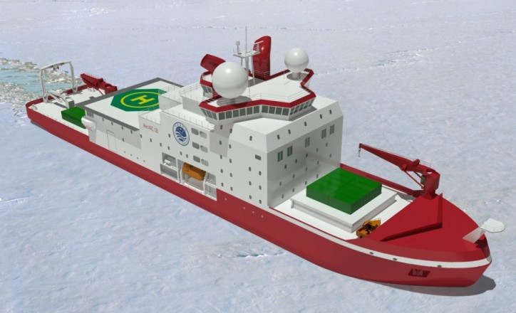 ABB's Azipod propulsion selected for first Chinese built icebreaker