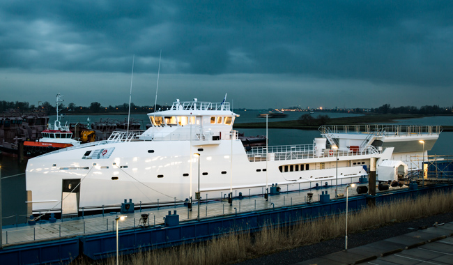 New DAMEN Yacht Support GAME CHANGER launched (Video)
