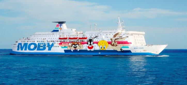 Wärtsilä carries out fast and efficient repowering of Italian ferry Moby Zaza