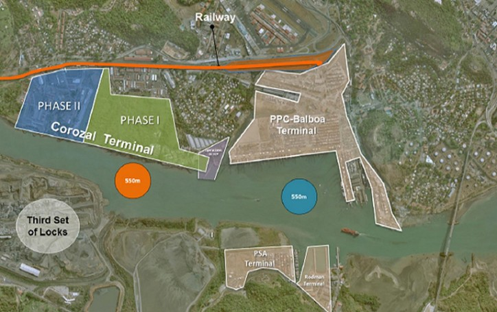 Panama Canal Issues Request for Proposals for Corozal Container Terminal