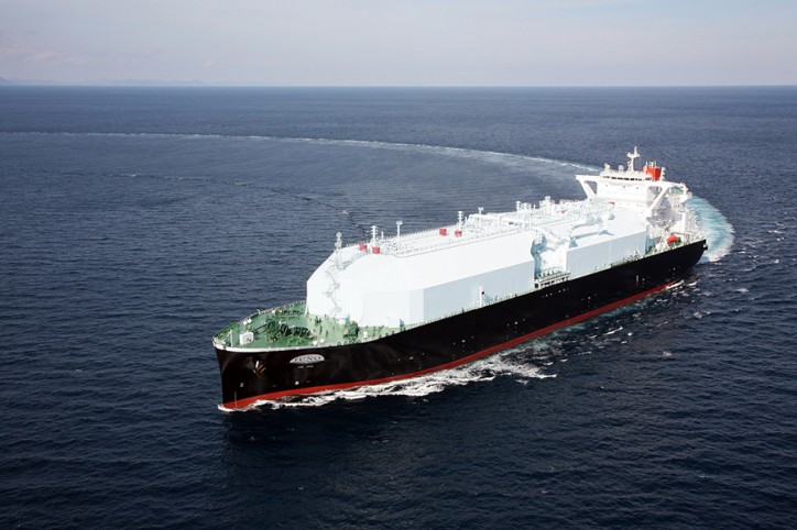 Mitsubishi Shipbuilding Holds Christening Ceremony for LNG JUNO, Next-Generation LNG Carrier