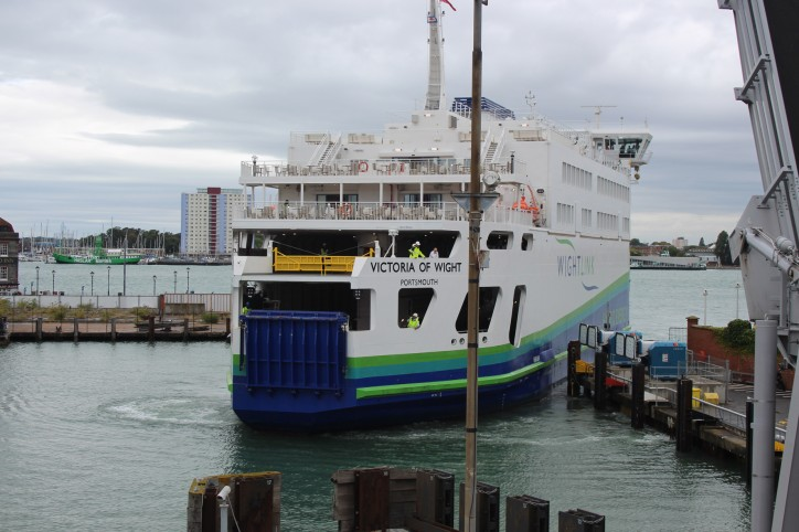 Victoria of Wight welcomes her first vehicles on board