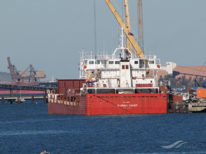 Cargo ship Kiunga Chief banned from Australian ports