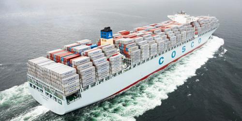 China Cosco vessel