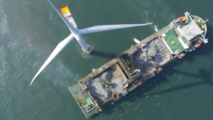 Boskalis strengthens position in growing offshore wind market