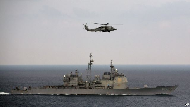 U.S. plans naval exercises with India and Japan in Philippine Sea