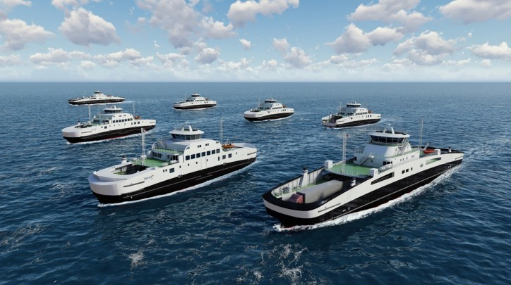 Havyard awarded major contract by Fjord1 for battery ferries