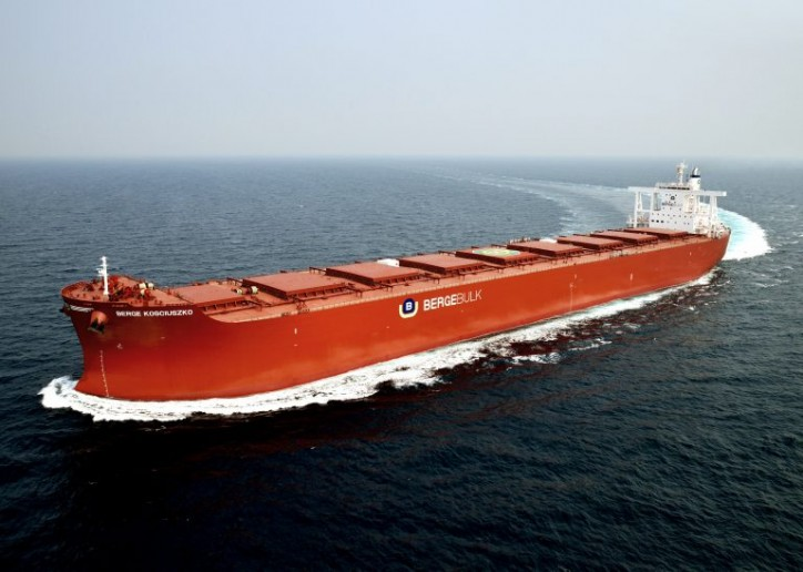 Berge Bulk Welcomes bulk carrier Berge Kosciuszko to its fleet