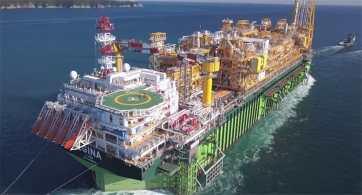 Egina FPSO arrives in Nigeria (Video)