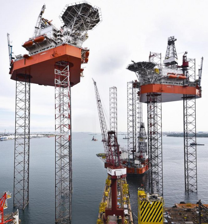 Keppel FELS delivers another two rigs to Mexico