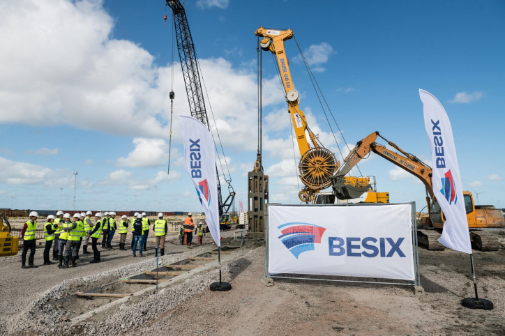 Zeebrugge Port Authority invests in new 1,071-meter quay wall