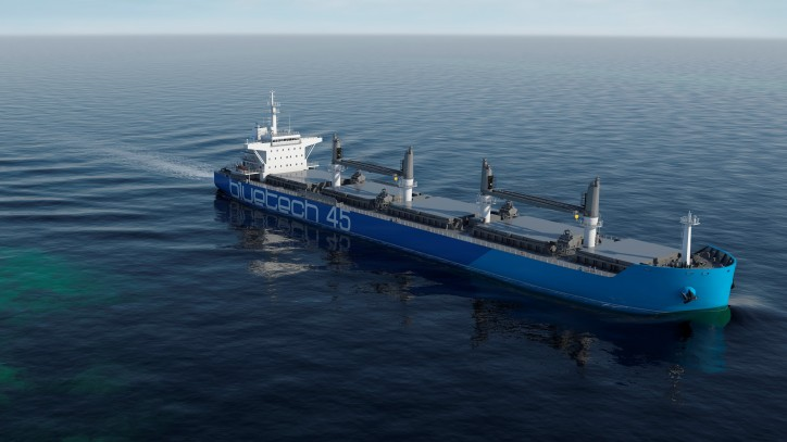 Bluetech Finland signs design contract for its Bluetech 45 bulk carrier