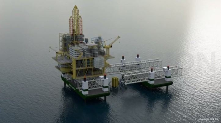 Curious to Know and See: Oil Rigs removal by SkyJack-16000 (Video)