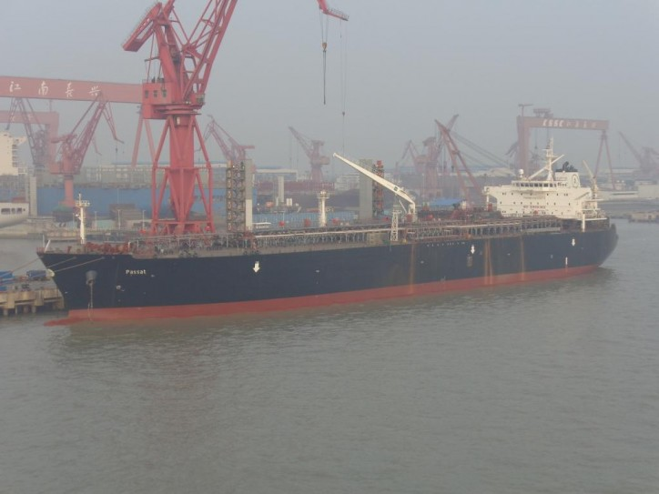 Avance Gas' VLGC Passat collides with anchored tanker in South Korea