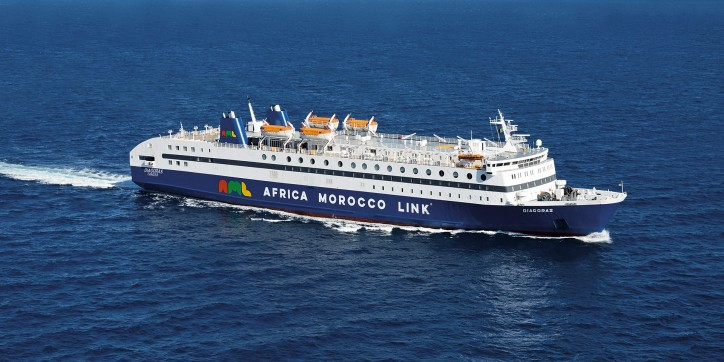 AML's RoPax Diagoras starts direct service from Port Almeria to Morocco's Nador