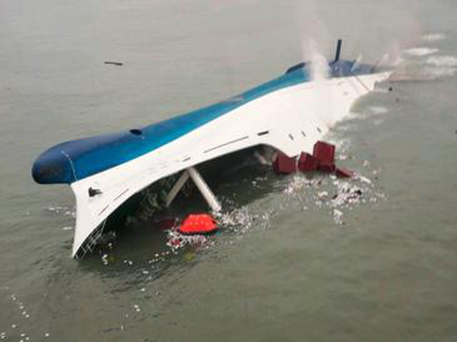 South Korea Starts Lifting Sewol Wreck