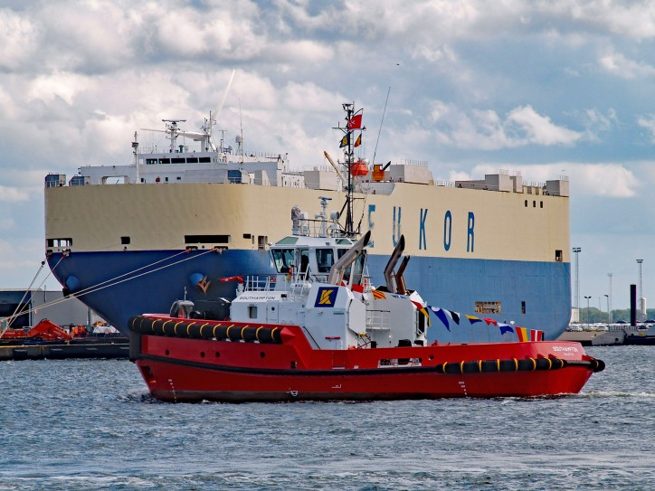 Kotug Smit adds two new tugs 'Rotterdam' and 'Southampton' into service for its European harbour towage
