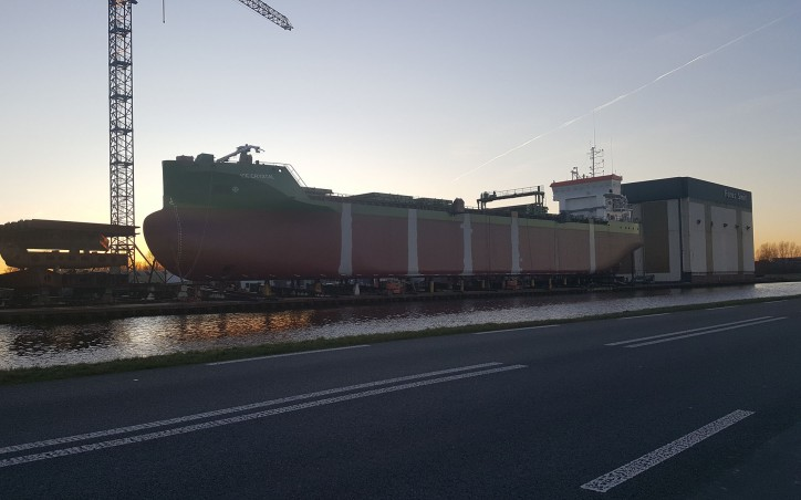 Ferus Smit to launch the second ship for Erik Thun AB