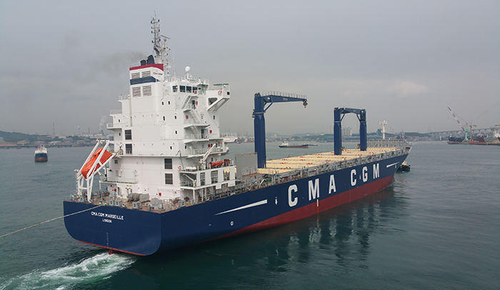 CMA CGM launches the new Baltic Levant Express service