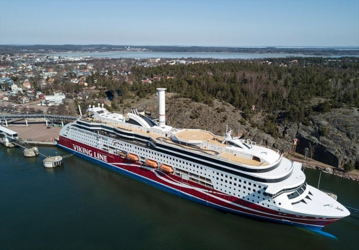 Independent tests confirm Norsepower Rotor Sail savings on Viking Grace