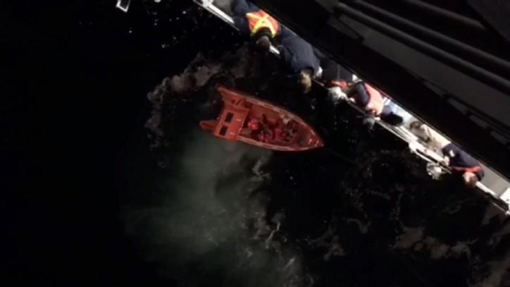Man deployed a life raft and jumped off the ferry Coastal Celebration while it was traveling through the Active Pass on the Tsawwassen to Swartz Bay route (Canada) on Nov 4.