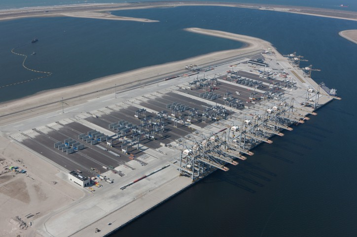 New Rail Terminal Opened By DP Word At Rotterdam World Gateway