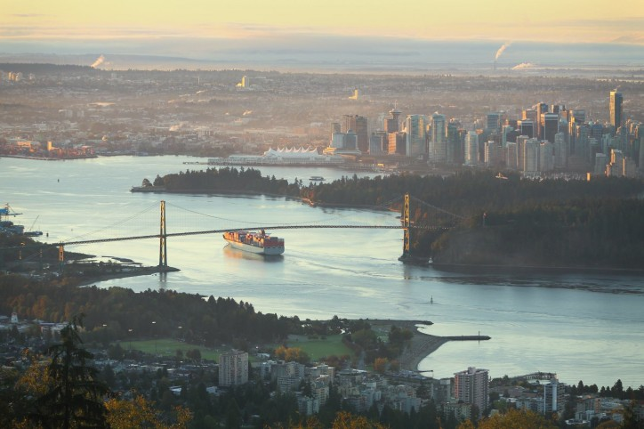 Just-released emissions inventory report finds significant decrease in Port of Vancouver air pollutant emissions since 2010