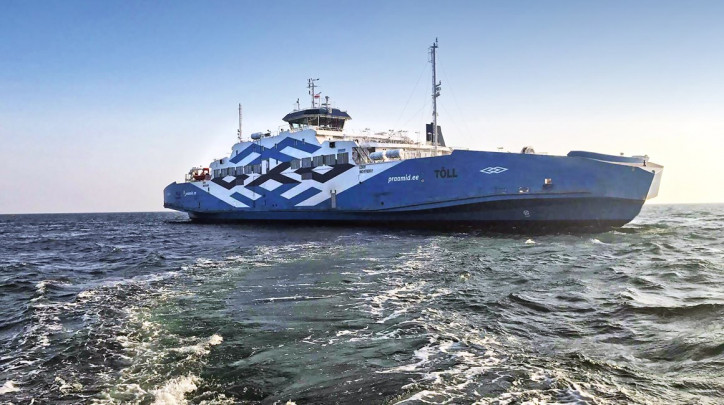 Ferry in Estonia upgraded to battery-hybrid by Norwegian Electric System
