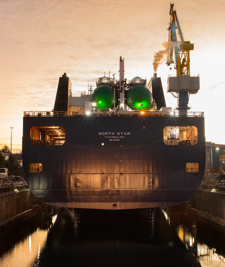 Phase 1 of TOTE Maritime Conversion to LNG Complete