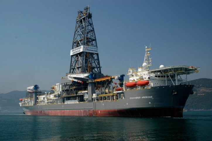 Statoil cancels contract with Transocean for the drillship Discoverer Americas